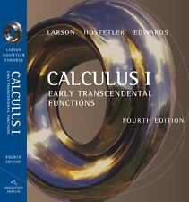 Calculus I: Early Transcendental Functions