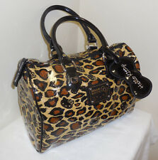 Loungefly Hello Kitty Sanrio SPEEDY Purse EMBOSSED LOGO Faux Leather Leopard BAG