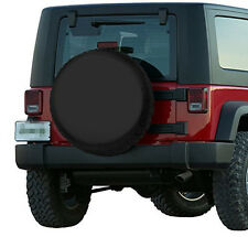 Canvas Spare Wheel Tire Cover For RV Liberty Wrangler 17 Inches Size XL