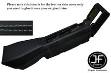 GREY STITCHING CENTER CONSOLE LEATHER SKIN COVER FITS RENAULT ALPINE GTA V6
