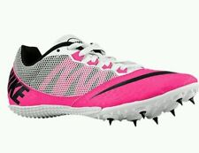 Nike Zoom Rival S 7 Track Spikes Shoes 615998-602 Black/Pink/Black Women's 7.5