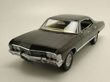 Chevrolet Impala Sedan 1967 Supernatural Ohio Plate, Model Car 1:18 Greenlight