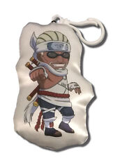 "*NEW* Naruto Shippuden: Killer Bee 4"" Plush Key Chain by GE Animation"