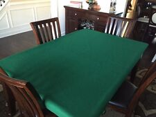 Felt poker table covers Texas Hold Em' Tablecloth bonnet - Large rectangle table