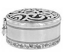New Brighton Skribbel Round Jewelry Box Mother's Day Gift