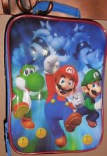 SUPER MARIO INSULATED LUNCH BAG MARIO BOWSER LUIGI YOSHI!