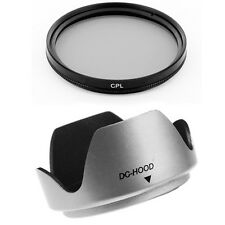 55mm Thumb Drive Lens Hood,CPL Filter for Kodak EasyShare Z740 Z710 Z650 Camera