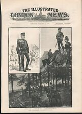 1888 ARMIES OF THE CONTINENT THE AUSTRO HUNGARIAN ARMY INFANTRY RIFLES HUSSARS