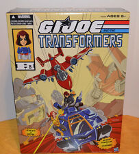 GI JOE AND THE TRANSFORMERS 2016 SDCC BOX SET POWERGLIDE VS. SOUNDWAVE MISB ARAH