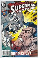 (1993) SUPERMAN THE MAN OF STEEL #19 FIRST PRINTING! DOOMSDAY COVER AND STORY!
