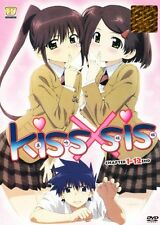 DVD Kissxsis Complete Episodes 1-12end + Free Bonus 1 Anime DVD (Ship out Fast)