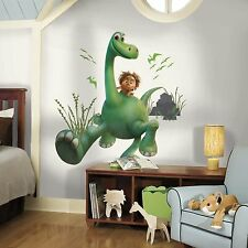 THE GOOD DINOSAUR ARLO BiG Wall Decals SPOT Room Decor Stickers Long Neck NEW