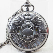 FINAL FANTASY XIV MOOGLE POCKET WATCH JAPAN AUTHENTIC - NIB