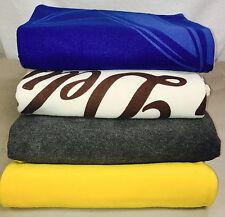 """Lot of 4 - Random Colors Printed Fleece Blanket Throw ze 50""""x60"""""""