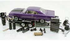 1/18 GMP Mopar Diecast Car Tool and Trailer Set Accessories Pack