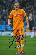 MILLWALL HAND SIGNED SHANE LOWRY 6X4 PHOTO.