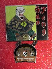 Disney Pirates Of The Caribbean SAO FENG Legend Lives Dangle Pin LE 2000