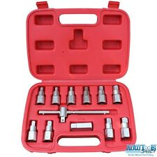 12pc Universal Drain Plug Key Set