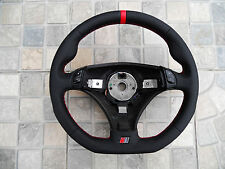 Steering Wheel AUDI A4 B5 RS4 S4 tiptronic Flat Bottom Leather