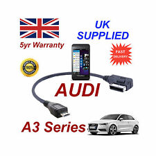 AUDI A3 4F0051510M Cable For BLACKBERRY Z10 MICRO USB Audio Cable
