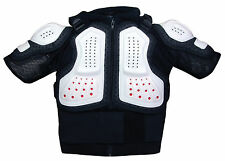 NEW CHILDS BODY ARMOUR JACKET BMX MTB DOWNHILL SKATE SCOOTER CYCLE - XS / SMALL