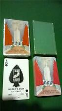 Beautiful MINT cond. PLAYING Cards WORLDS FAIR 1933 CHICAGO 1934 art deco
