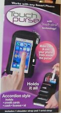 Touch Purce As Seen on TV, Accordion style zip around organizer that holds phone