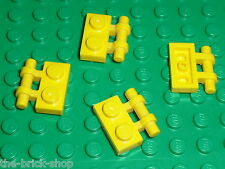 LEGO yellow Plate 1 x 2 with Handle 2540 / Set 4514 7249 7721 7047 4959 4950 ...