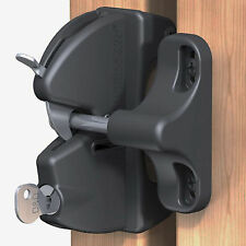 TruClose Lockable Security Latch for Wooden Garden Gates & Doors LLAARB