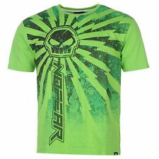 No Fear Mx T-SHIRT GREEN THUNDER-Tg. S + XL