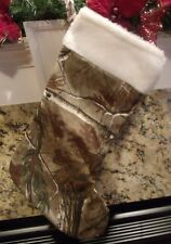 Realtree AP Licensed Camo Christmas Stocking Camoflauge