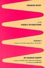 Problem Book in the Theory of Functions, Vol. 1: Problems in the Elementary The