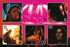 PINK FLOYD - LIVE COLLAGE POSTER - 24x36 CONCERT MUSIC 3366