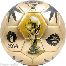 FIFA World Cup Brasil 2014 Gold Event Mini Soccer Ball Size 2 Licensed FWC-E2/B