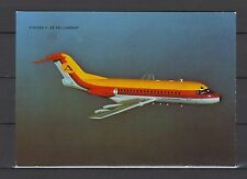 Postcard 1195 - Aircraft/Aviation Fokker F-28 Fellowship