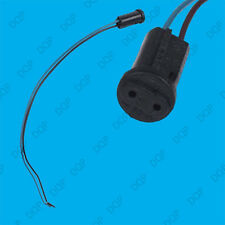 25x G4 Base Black Lamp Holder Socket Cable, Halogen, LED Bulb Down Light Fitting