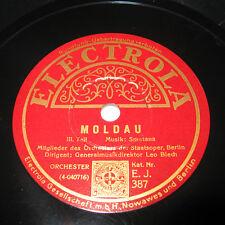 MOLDAU Smetana - Ungarischer Marsch - Schellack 78 rpm