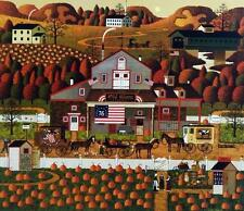Charles Wysocki Old Glory Farms Signed & Numbered With certificate