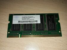Banco RAM 256 MB DDR 333Mhz CL2.5 PC2700S Nanya