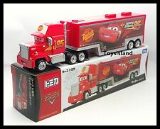 Tomica Disney CARS MACK Team Transporter Cargo Truck TRAILER TOMY 2016 New LONG