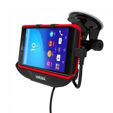 Car Mount Cradle Holder Sat Nav GPRS With Car USB Charger for Sony Xperia Z3+ Z4
