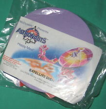 McDonald's Young Astronauts 2 Satellite Dish 3-D Puzzle MIP 1992 Free Shipping!