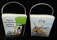 20 x Personalised 16 oz noodle Boxes