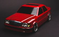 Drift RC Karo Mercedes Benz W124 1/10 body to fit Tamiya, LRP, HPI, Yokomo, MST
