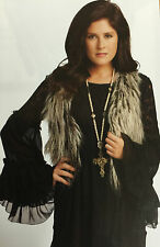 Boho Lace Dress Size XS Cowgirl Country Western Black Tunic Top