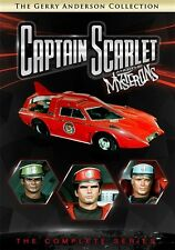 CAPTAIN SCARLET AND THE MYSTERONS COMPLETE SERIES New DVD Gerry Anderson