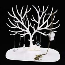 Jewelry Necklace Ring Earring Tree Stand Display Organizer Holder Show Rack B DH