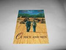 RARE 1992 OF MICE AND MEN PREMIERE SCREENING MOVIE TICKET - GARY SINISE &