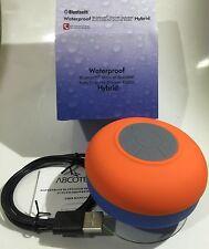 Waterproof Bluetooth Shower Speaker Auto Scan FM Shower Radio Hybrid Orignal