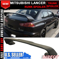 08-15 Mitsubishi Lancer Only X Original EVO Style Rear Trunk Spoiler ABS 3PC